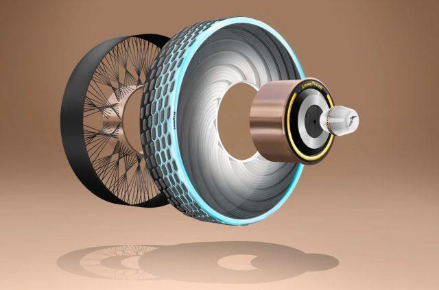reCharge - Le pneu rechargeable de Goodyear 1