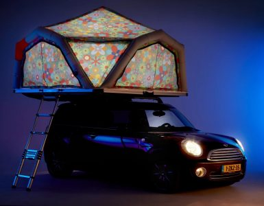 Fjordsen dévoile une tente de toit gonflable juste géniale