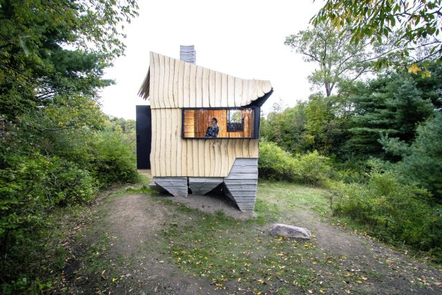 Ashen Cabin - Une maison construite avec une imprimante 3D