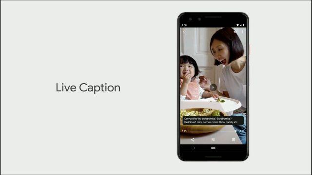 Live Caption pourrait également être utilisée pour les appels téléphoniques