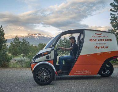 Arcimoto met à disposition le trois-roues électrique Deliverator