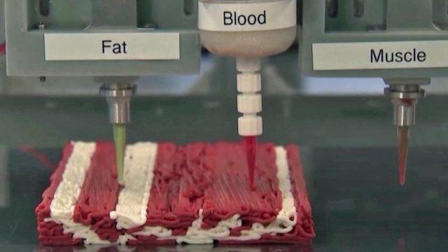 Les steaks à base de plantes peuvent désormais être produits à partir d'une imprimante 3D