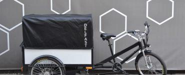 Le Trike électrique de Delfast est prêt à effectuer des livraisons