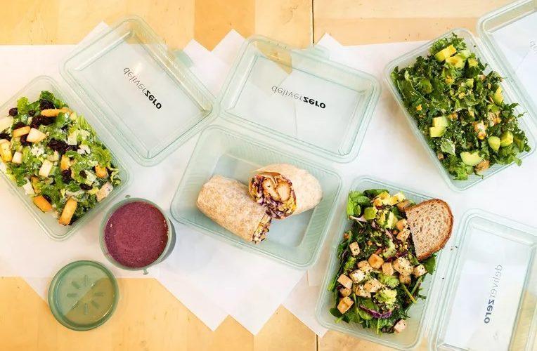 DeliverZero permet aux New-Yorkais de commander de la nourriture dans des conteneurs réutilisables