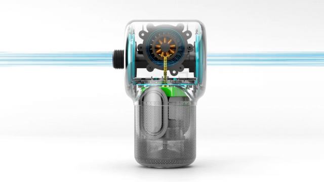 Shower Power – Un haut-parleur Bluetooth hydroélectrique alimenté par la douche 1