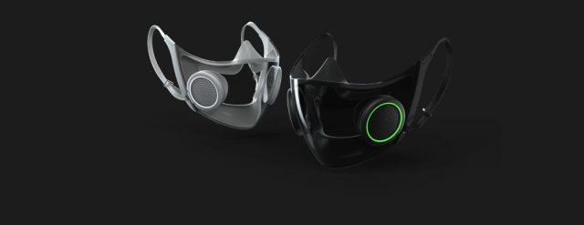 Project Hazel - Razer dévoile un masque transparent réutilisable 1