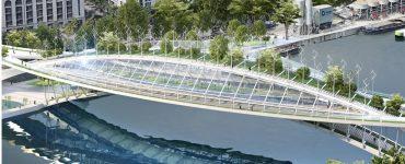 Vincent Callebaut veut enjamber la Seine avec des jardins potagers