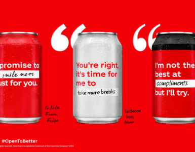 Open to Better – Le packaging de Coca-Cola se réinvente 1
