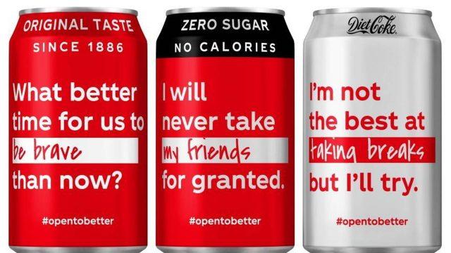 Open to Better – Le packaging de Coca-Cola se réinvente