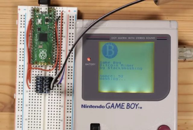Miner du bitcoin sur une Game Boy est désormais possible
