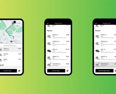 Uber Green permet de réserver un trajet en véhicule électrique à Londres