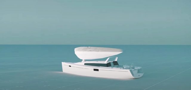 Wing Sail Mobility - Les voiles gonflables Michelin hybrident les navires 1