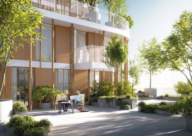 Urban Agency dévoile un gratte-ciel couvert d'arbres 1
