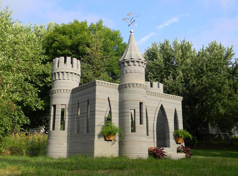 impression 3D chateau