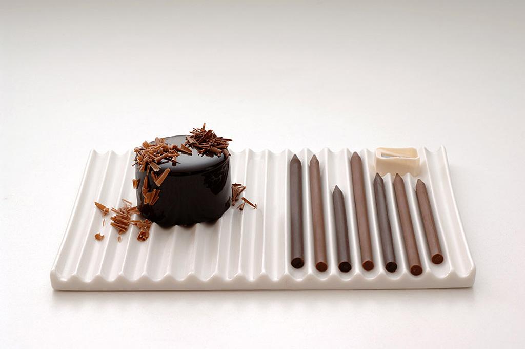 stylos en chocolat Nendo