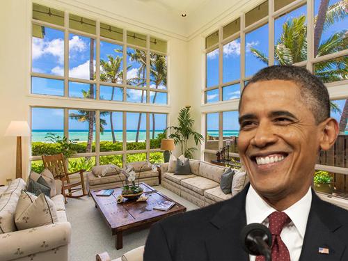 location vacances obama