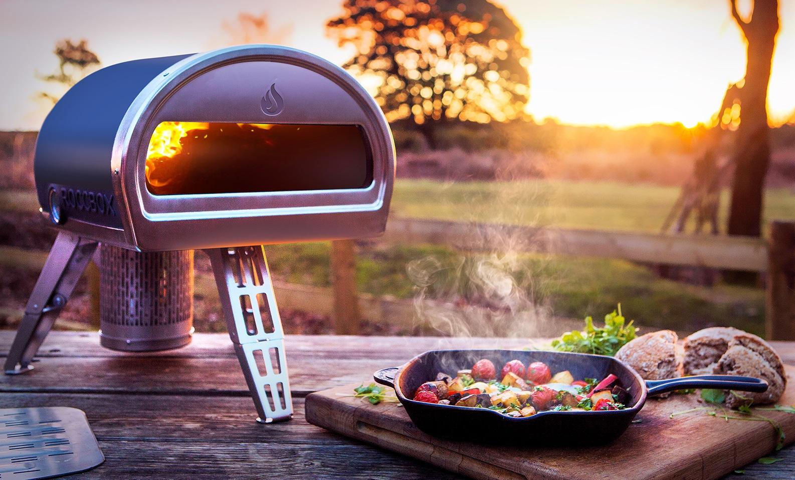 roccbox un four pizza traditionnel portable crowdfunding. Black Bedroom Furniture Sets. Home Design Ideas