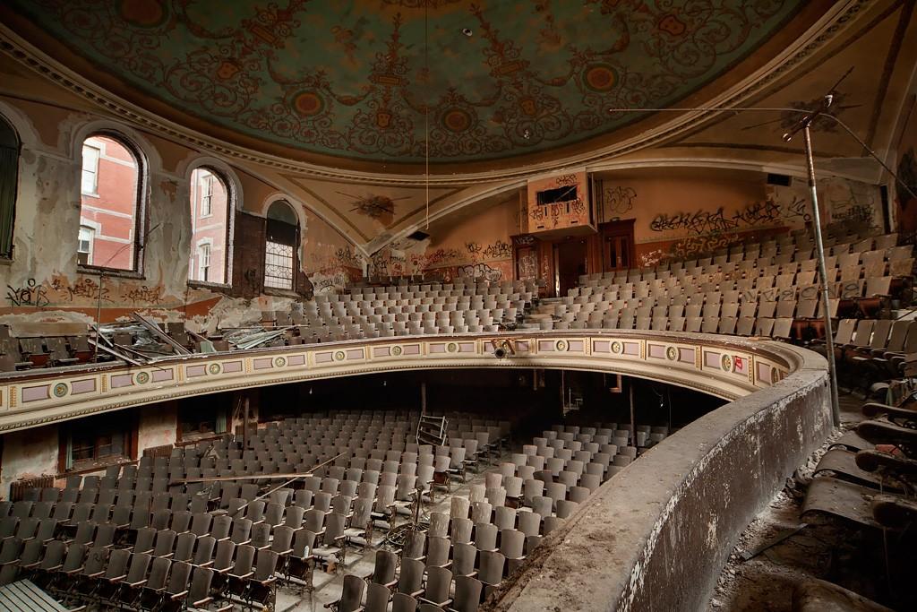 auditorium abandonné St Alphonsus Hall