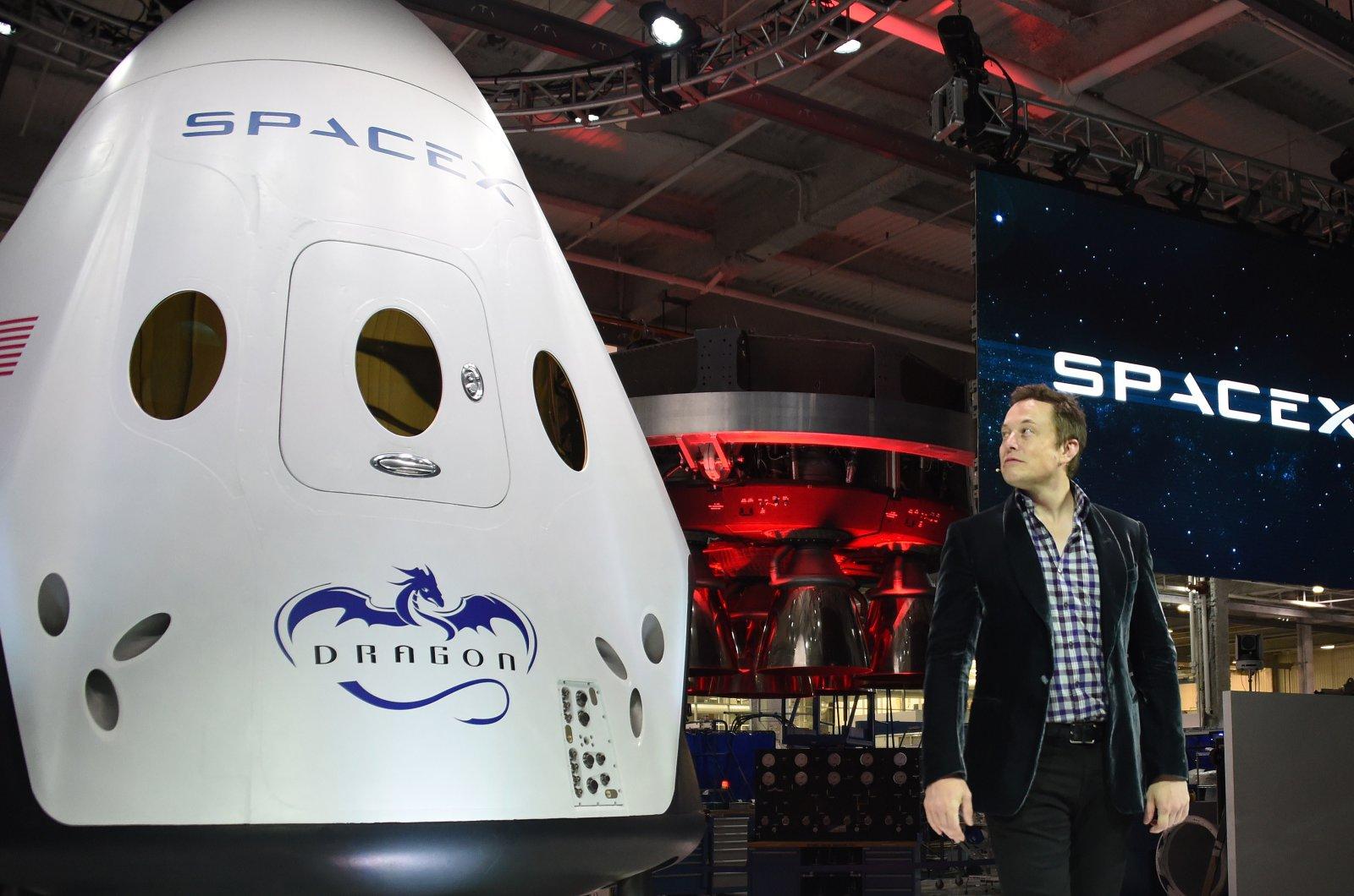 capsules Dragon de SpaceX