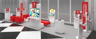 salons pop-up Switch seront installés dans quatre aéroports américains