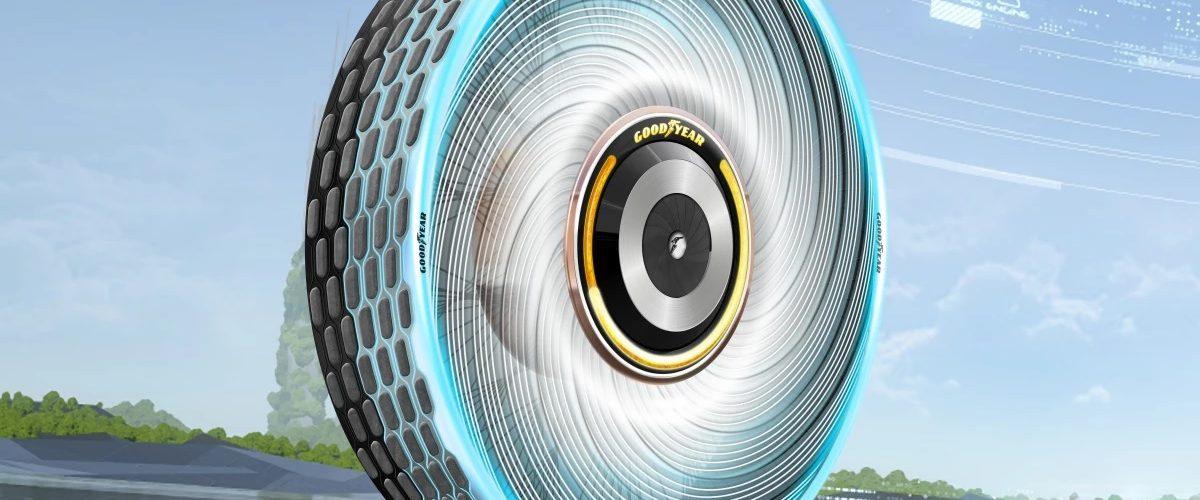 reCharge - Le pneu rechargeable de Goodyear