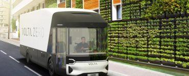 Le camion électrique Volta Zero disposera de panneaux en lin tissé