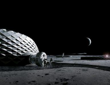 Bjarke Ingels Group dévoile ses abris lunaires