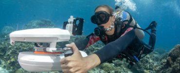 WhiteShark Tini – Un scooter sous-marin pour le moins étonnant