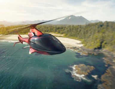 Hill Helicopters dévoile l'hélicoptère de luxe privé HX50