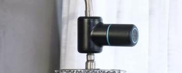 Shower Power – Un haut-parleur Bluetooth hydroélectrique alimenté par la douche