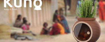 Kuno – Un réfrigérateur écologique fabriqué à partir d'argile