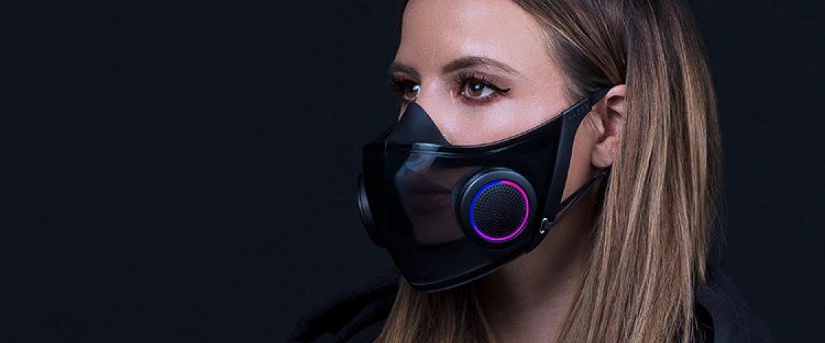 Project Hazel - Razer dévoile un masque transparent réutilisable