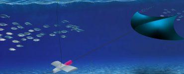 Manta - Un système d'énergie marémotrice avec cerf-volant sous-marin