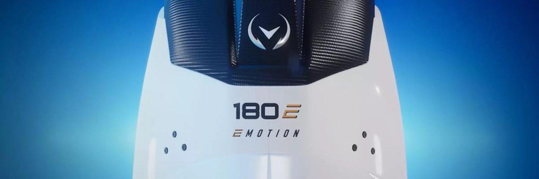 Le hors-bord électrique E-Motion 180E en quête du record du monde de vitesse
